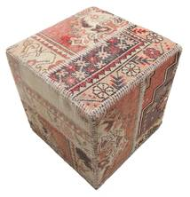 Tappeto Patchwork stool ottoman BHKW55