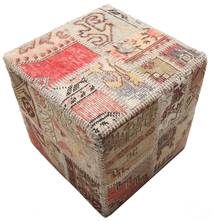 Tappeto Patchwork stool ottoman BHKW58
