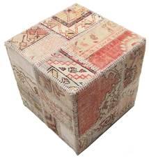 Tapis Patchwork stool ottoman BHKW59