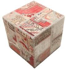 パッチワーク stool ottoman 絨毯 BHKW65