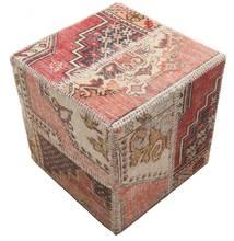 Patchwork stool ottoman matta BHKW71