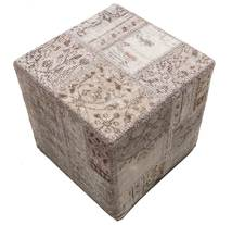Patchwork stool ottoman teppe BHKW73
