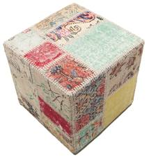 Patchwork stool ottoman teppe BHKW82