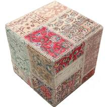 Tapis Patchwork stool ottoman BHKW83
