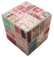 Tappeto Patchwork stool ottoman BHKW86