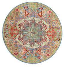 Simav Dywan Ø 150 Nowoczesny Okrągły Jasnozielony/Ciemnobeżowy ( Turcja)