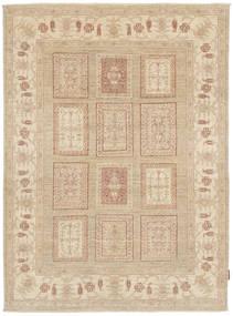 Ziegler Matta 144X197 Äkta Orientalisk Handknuten Beige/Mörkbeige (Ull, Pakistan)