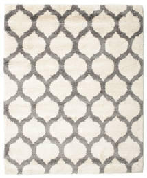 Berber Shaggy Illusia - Off White/Grey Rug 200X200 Modern Square Beige/Light Grey ( Turkey)