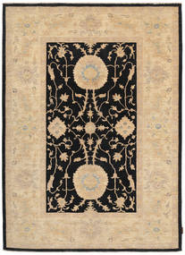 Ziegler Rug 168X235 Authentic  Oriental Handknotted Beige/Black (Wool, Pakistan)