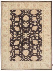 Ziegler Matto 173X234 Itämainen Käsinsolmittu Vaaleanruskea/Tummanbeige/Tummansininen (Villa, Pakistan)