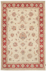 Ziegler Rug 170X265 Authentic  Oriental Handknotted Light Brown/Beige (Wool, Pakistan)