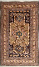 Ardabil Alfombra 162X264 Oriental Hecha A Mano Marrón Claro/Azul Oscuro (Lana, Persia/Irán)