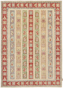 Ziegler Rug 169X236 Authentic  Oriental Handknotted Light Brown/Brown (Wool, Pakistan)