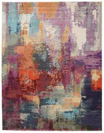 Aruba Tapis 200X250 Moderne Violet Foncé/Marron Clair ( Turquie)