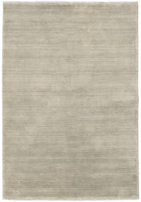 Handloom fringes - Light Grey / Beige rug CVD16598