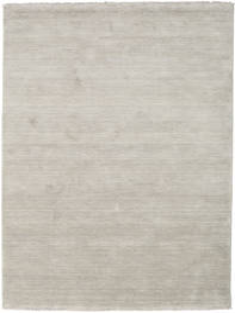 Handloom Fringes - Greige Teppich  140X200 Moderner Hellgrau (Wolle, Indien)