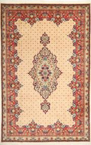 Yazd Matto 200X308 Itämainen Käsinsolmittu Vaaleanruskea/Beige (Villa, Persia/Iran)