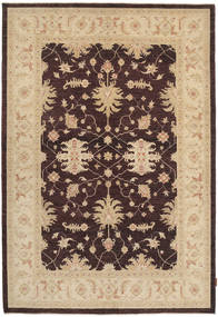 Ziegler Rug 169X249 Authentic  Oriental Handknotted Dark Brown/Beige/Dark Beige (Wool, Pakistan)
