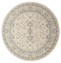 Ziegler Michigan - Green/Beige Rug Ø 225 Oriental Round Light Grey/Beige ( Turkey)