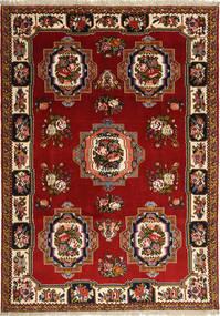 Bakhtiar Matta 212X304 Äkta Orientalisk Handknuten Mörkröd/Mörkbrun (Ull, Persien/Iran)