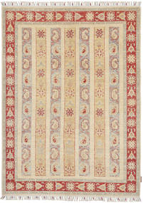 Ziegler Rug 149X205 Authentic  Oriental Handknotted Beige/Light Grey (Wool, Pakistan)