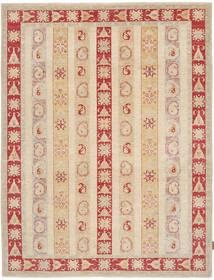 Ziegler Rug 177X220 Authentic  Oriental Handknotted Light Brown/Dark Beige (Wool, Pakistan)
