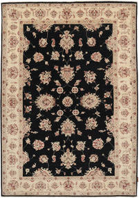 Ziegler Rug 169X240 Authentic Oriental Handknotted Light Brown/Black (Wool, Pakistan)
