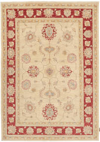 Ziegler Rug 170X236 Authentic  Oriental Handknotted Beige/Light Brown (Wool, Pakistan)