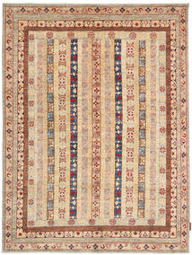Ziegler Rug 150X197 Authentic  Oriental Handknotted Light Brown/Brown (Wool, Pakistan)