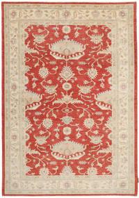 Ziegler Rug 174X243 Authentic  Oriental Handknotted Light Brown/Rust Red (Wool, Pakistan)