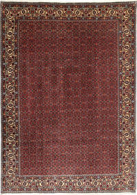 Bidjar Takab/Bukan Teppe 208X300 Ekte Orientalsk Håndknyttet Mørk Rød/Brun (Ull, Persia/Iran)