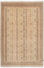 Ziegler Rug 184X274 Authentic  Oriental Handknotted Light Brown/Dark Beige (Wool, Pakistan)