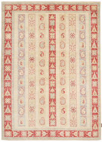 Ziegler Rug 171X236 Authentic  Oriental Handknotted Beige/Light Pink (Wool, Pakistan)
