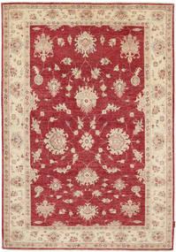 Ziegler Matto 168X246 Itämainen Käsinsolmittu Punainen/Vaaleanruskea (Villa, Pakistan)