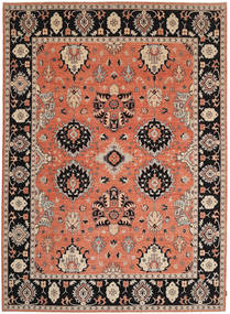 Ziegler Rug 273X380 Authentic  Oriental Handknotted Crimson Red/Black Large (Wool, Pakistan)