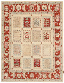 Ziegler Rug 146X186 Authentic  Oriental Handknotted Beige/Light Brown (Wool, Pakistan)