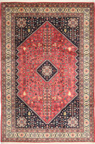 Abadeh Rug 210X310 Authentic  Oriental Handknotted Dark Blue/Light Brown (Wool, Persia/Iran)