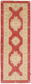 Ziegler Rug 83X238 Authentic  Oriental Handknotted Hallway Runner  Dark Beige/Light Brown (Wool, Pakistan)