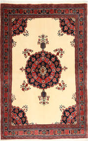 Afshar/Sirjan Rug 151X235 Authentic  Oriental Handknotted Brown/Dark Red (Wool, Persia/Iran)
