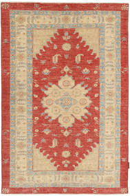 Ziegler Rug 119X180 Authentic  Oriental Handknotted Light Brown/Rust Red (Wool, Pakistan)