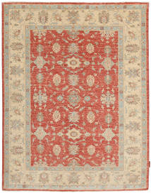 Ziegler Rug 153X195 Authentic  Oriental Handknotted Light Brown/Rust Red (Wool, Pakistan)