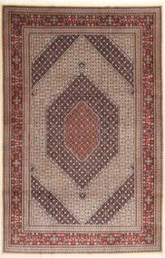 Moud Sherkat Farsh Rug 192X297 Authentic  Oriental Handknotted Light Brown/Dark Red (Wool/Silk, Persia/Iran)