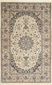 Nain 6La Rug 173X277 Authentic  Oriental Handknotted Light Brown/Beige (Wool/Silk, Persia/Iran)
