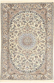 Nain 6La Rug 107X159 Authentic  Oriental Handknotted Beige/Light Brown (Wool/Silk, Persia/Iran)