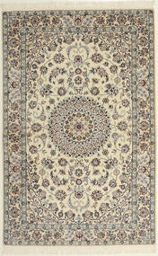 Nain 6La Rug 118X182 Authentic Oriental Handknotted Light Brown/Beige (Wool/Silk, Persia/Iran)