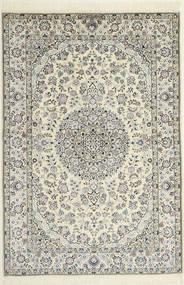 Nain 6La Matta 119X174 Äkta Orientalisk Handknuten Beige/Ljusgrå (Ull/Silke, Persien/Iran)