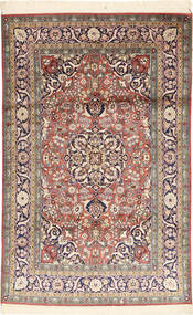 Kashmir pure silk carpet RGA221