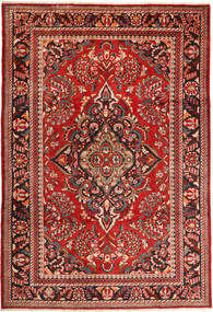 Lillian Rug 228X340 Authentic  Oriental Handknotted Dark Red/Rust Red (Wool, Persia/Iran)