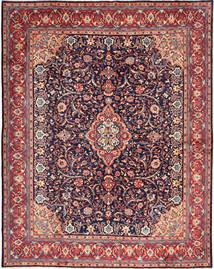 Sarough Matto 300X384 Itämainen Käsinsolmittu Tummanvioletti/Tummanharmaa Isot (Villa, Persia/Iran)