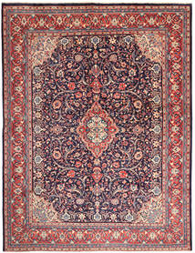 Sarouk Rug 300X398 Authentic  Oriental Handknotted Dark Purple/Purple Large (Wool, Persia/Iran)